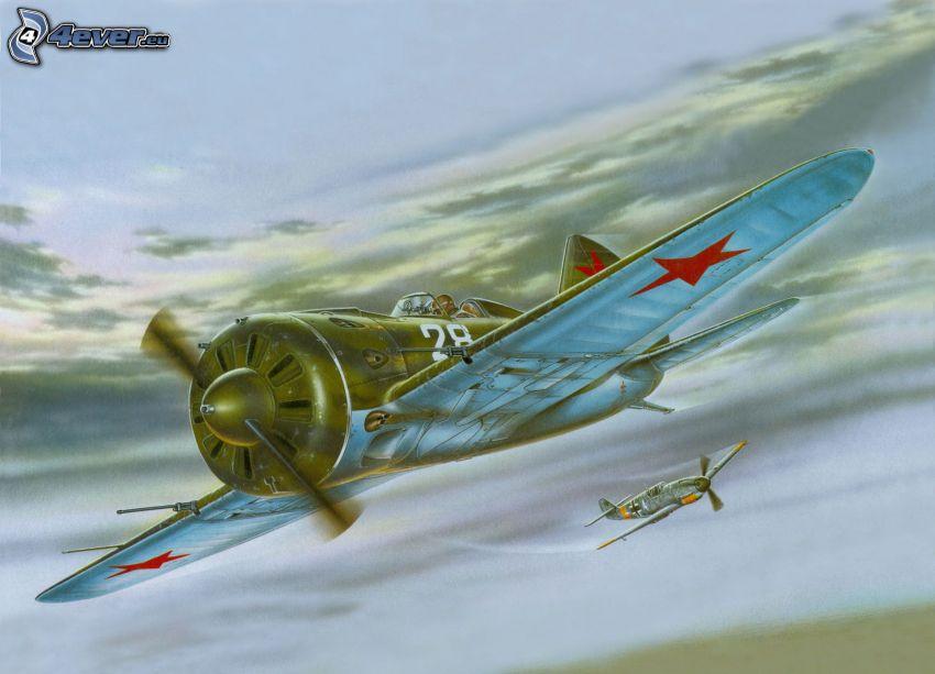 Polikarpov I-16, flygplan