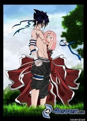 Sasuke, Sakura