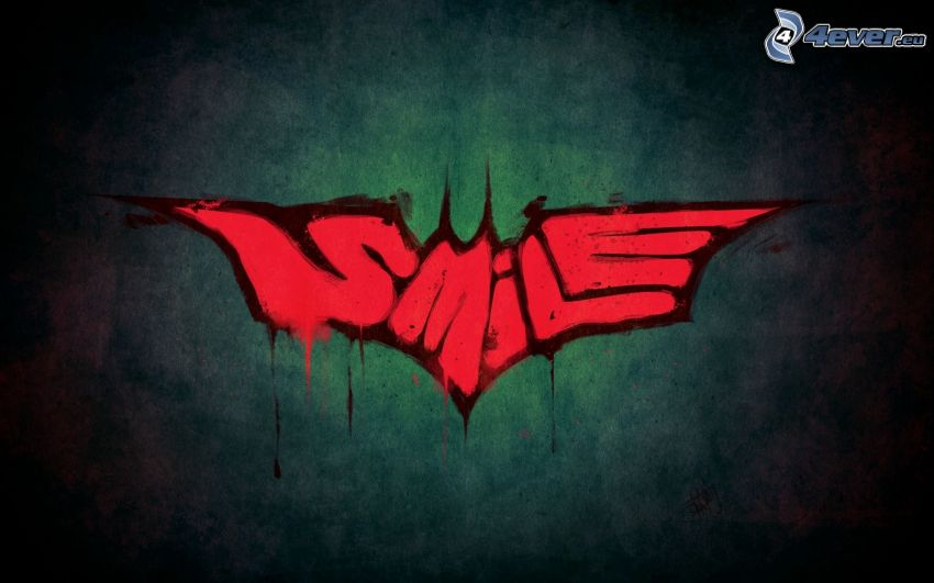 smile, graffiti