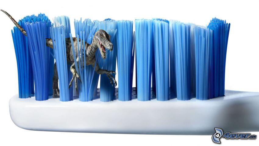 tandborste, dinosaurie