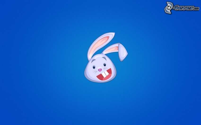 tecknad kanin
