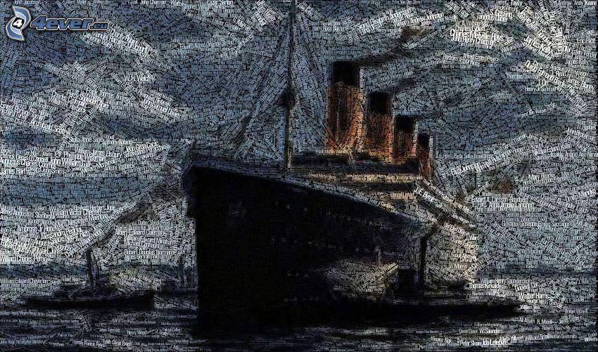 Titanic, mosaik