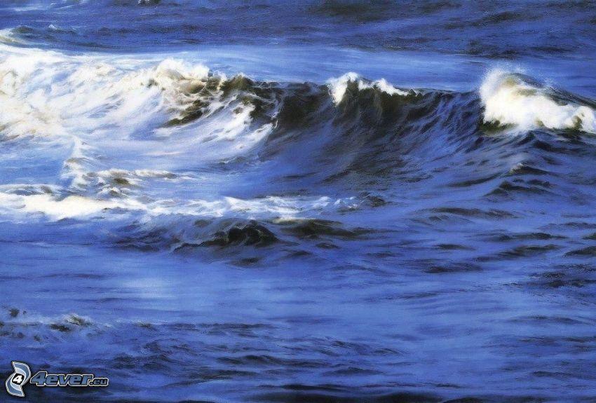 våg, hav