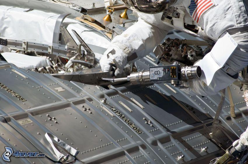 astronaut, Internationella rymdstationen ISS