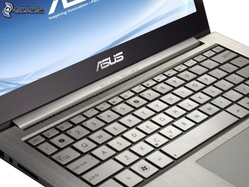Asus Zenbook, UX31E, tangentbord