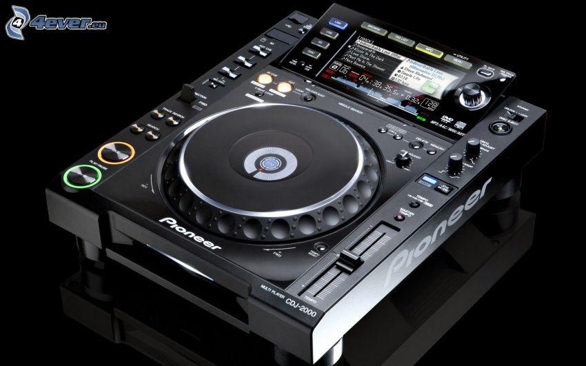 DJ konsol