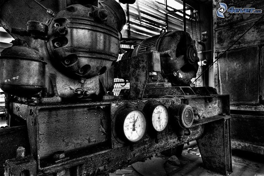 gammal maskin