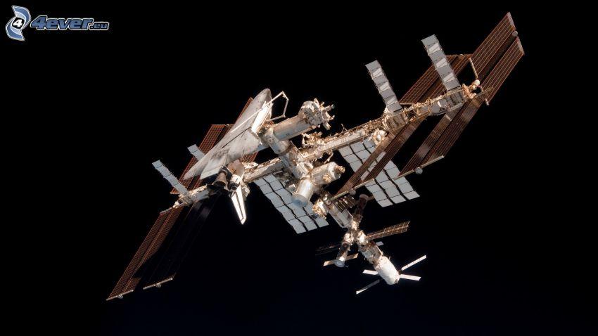 Internationella rymdstationen ISS, Endeavour fäst till ISS
