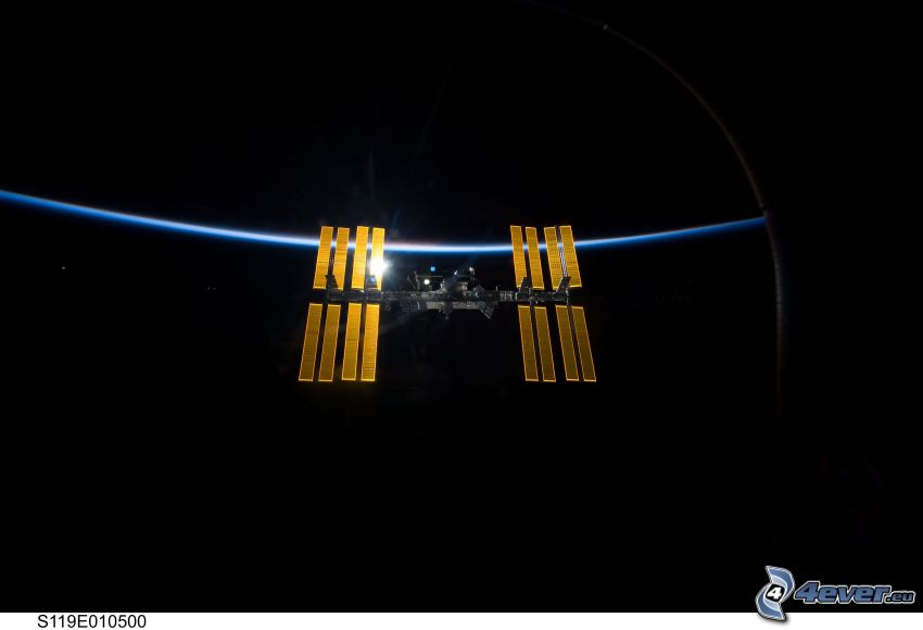Internationella rymdstationen ISS