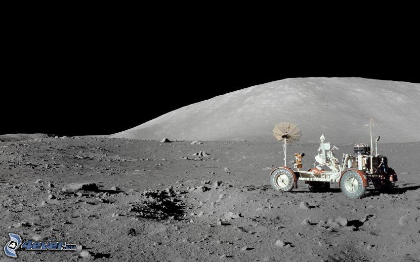 Lunar Roving Vehicle LRV, Apollo 17, Månen