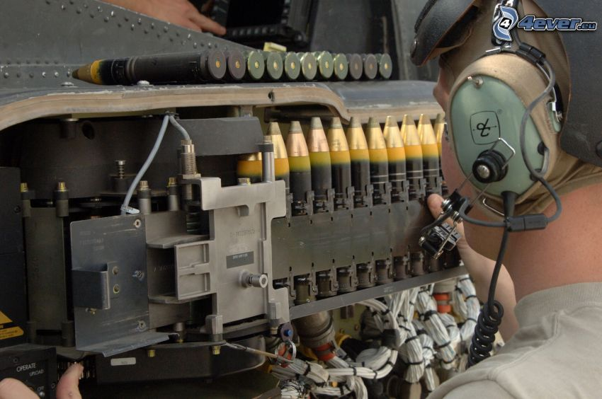 ammunition, maskingevär