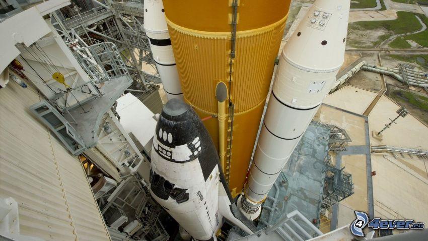 raket, avfyrningsramp