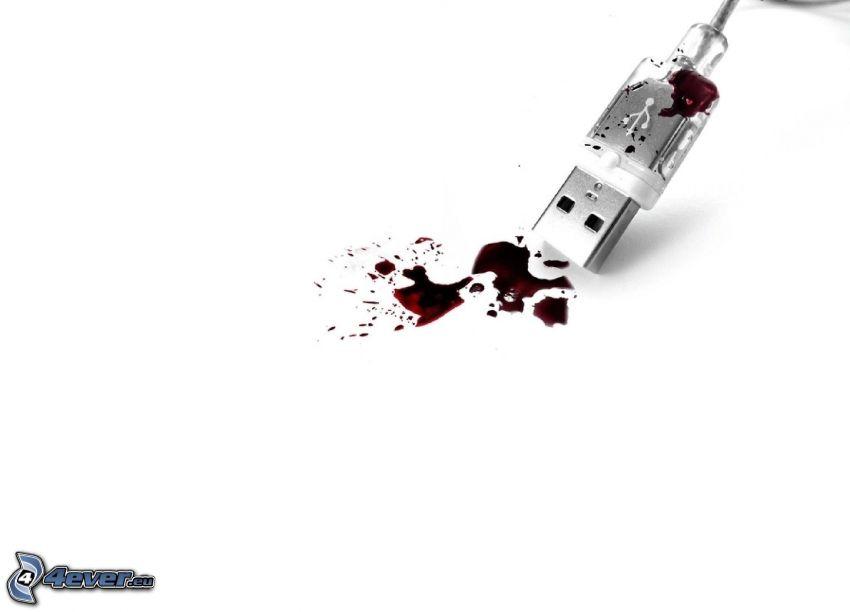 USB, blod