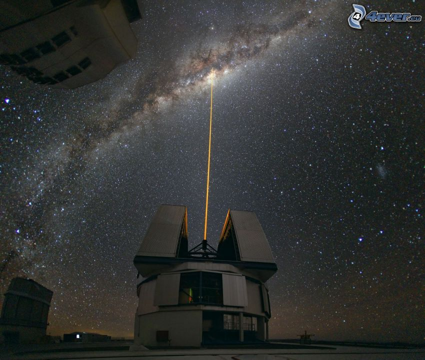 Very Large Telescope, teleskop, universum