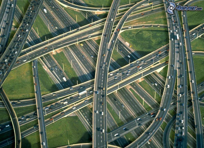 motorvägskorsning
