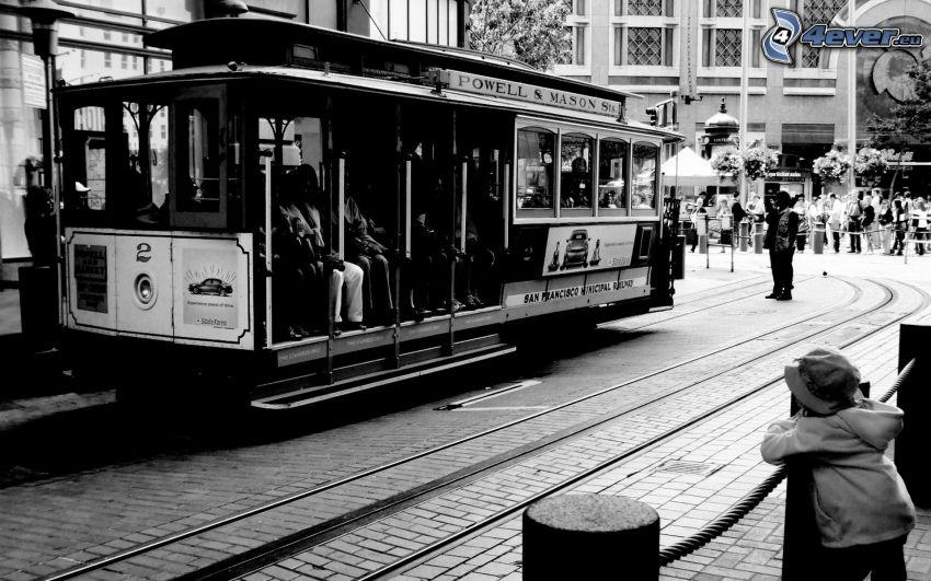 spårvagn, San Francisco