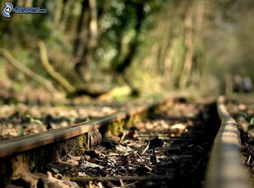 gammal järnväg