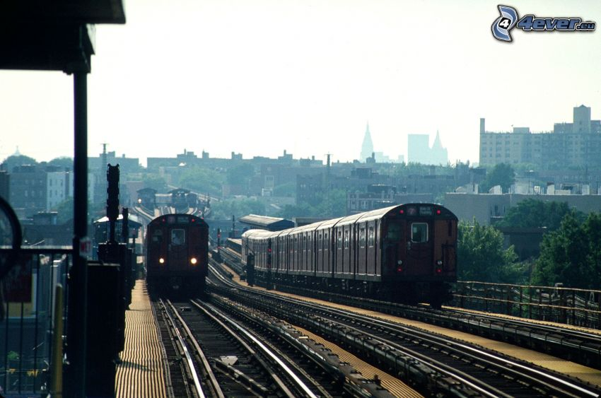 järnvägsstation, tåg, järnväg