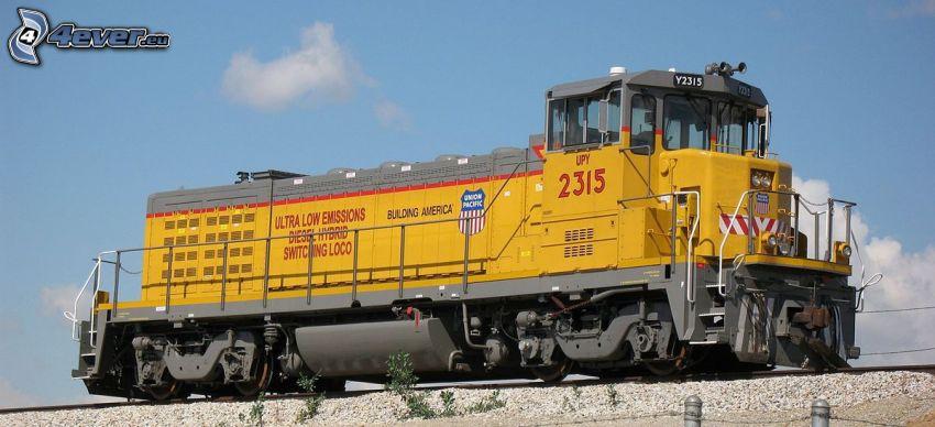 lokomotiv, Union Pacific