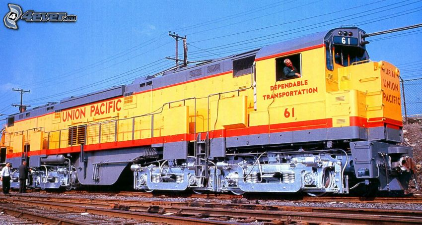 lokomotiv, Union Pacific