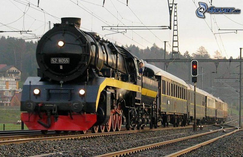 Orient Express, ånglok, järnväg