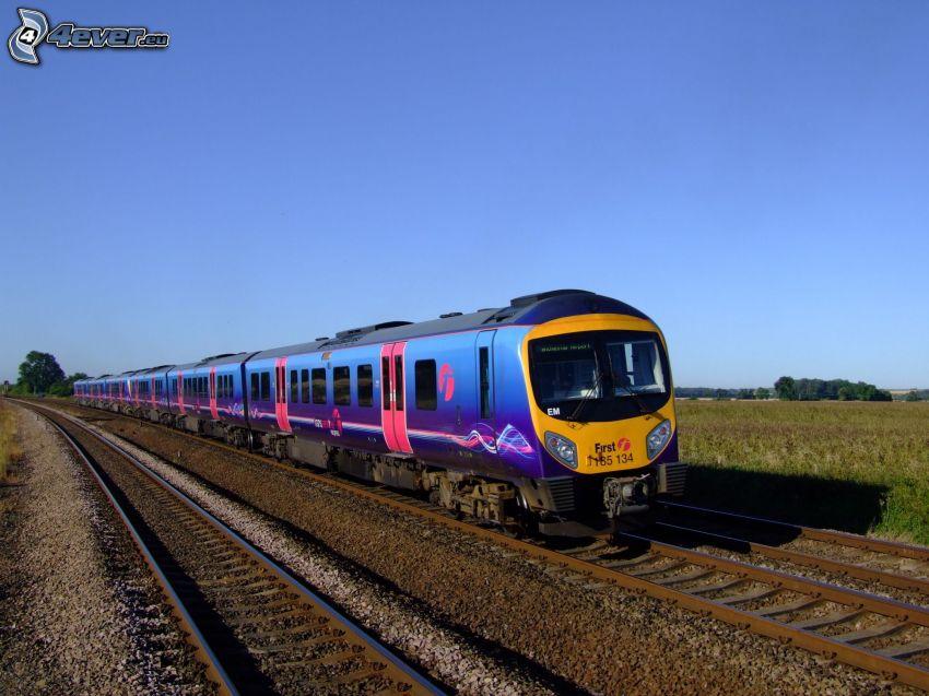tåg, järnväg
