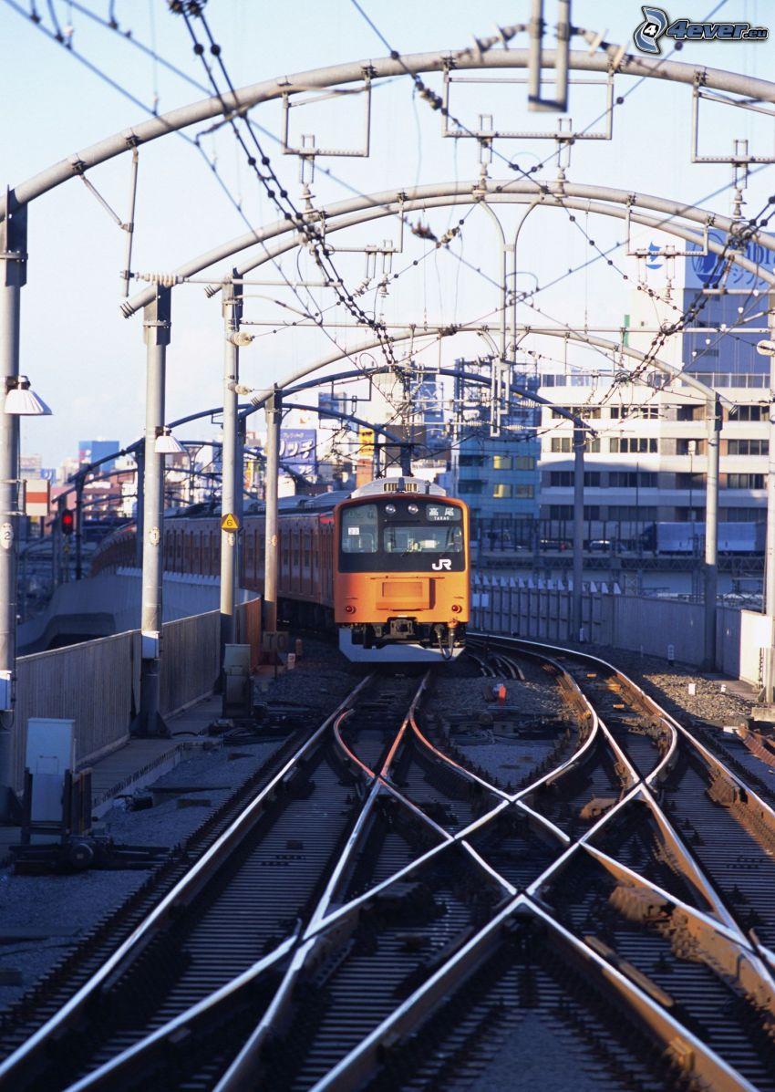 tunnelbana, järnväg