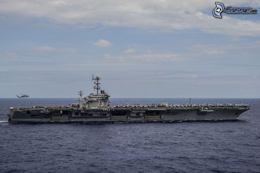 USS George Washington, hangarfartyg