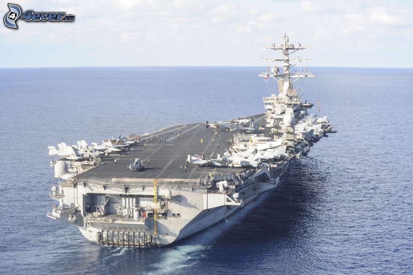 USS Nimitz, hangarfartyg