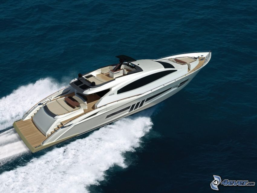 yacht, båt
