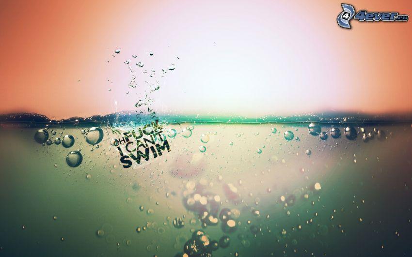 fuck, simning, vatten