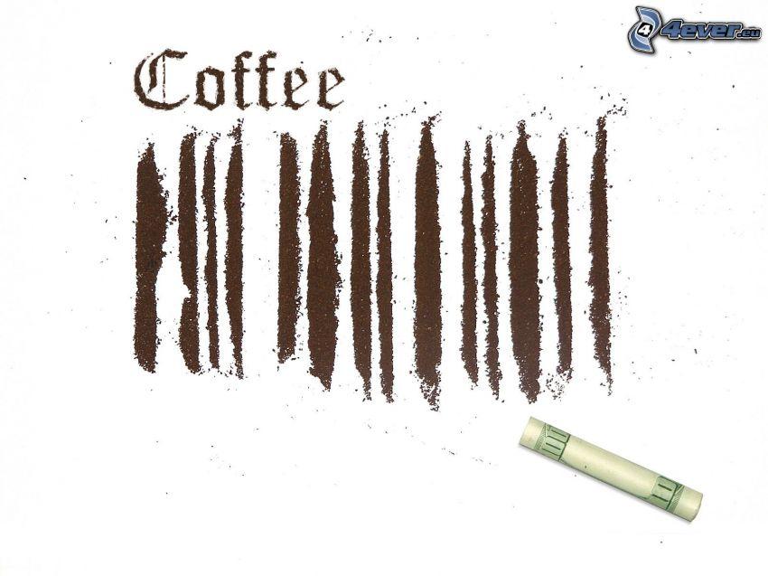 kaffe, luktsnus, dollar