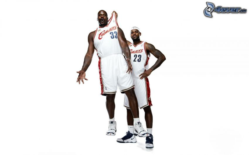 basketspelare, Cleveland Cavaliers, negrer