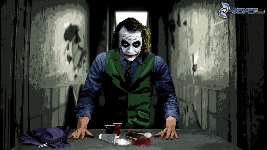 Joker, kosmetik