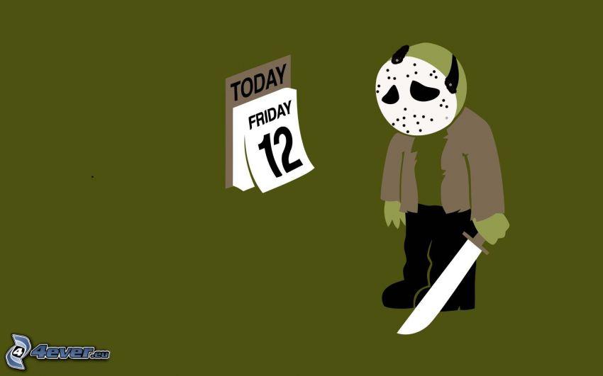 fredag den 12:e, sorg