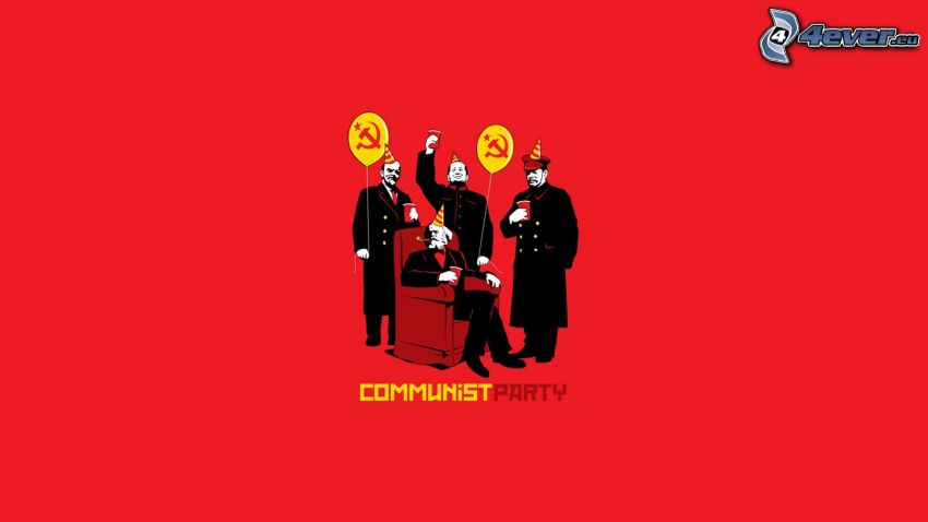 kommunism, party