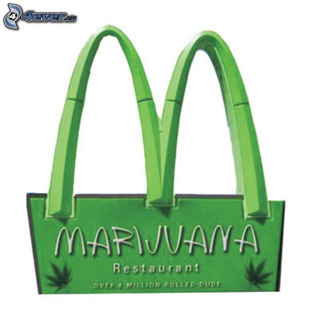 McDonald's, marijuana