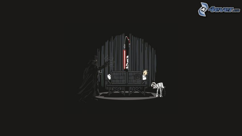 Star Wars, parodi, Darth Vader, trollkarl