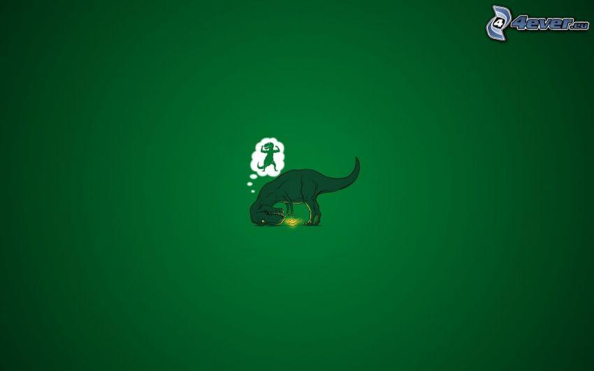 Tyrannosaurus, dröm