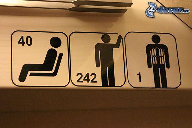 tunnelbana, människa, terrorist