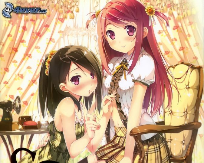 Chicas anime for Imagenes movibles anime
