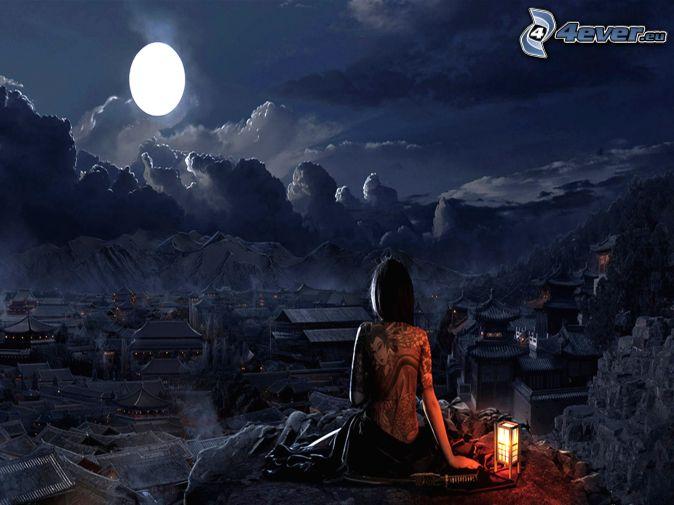 -LUNAS-MOONLIGHT - Página 18 China,-luna-llena,-pueblo-chino-152272