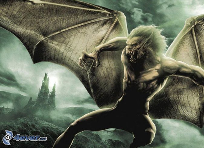 supuesto pariente del vampiro Monstruo,-alas,-vampiro-145308