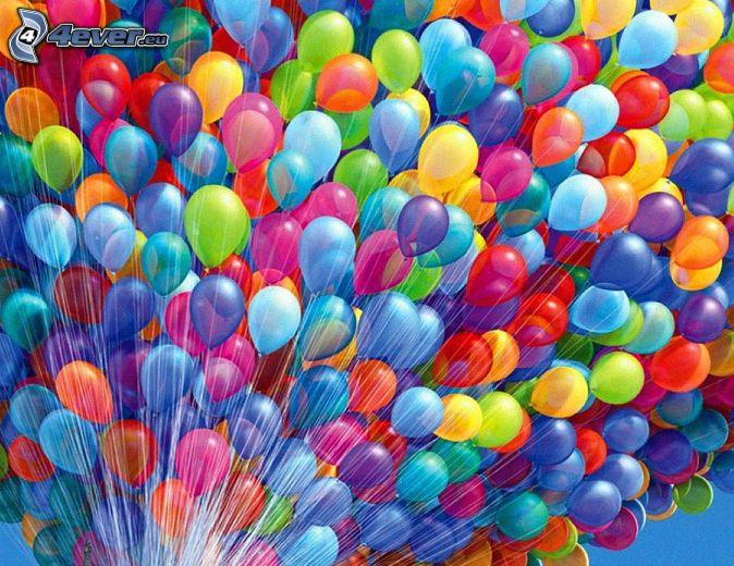Globos, colores