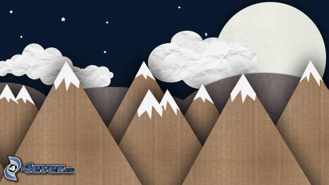 Resultado de imagen para montaña animada