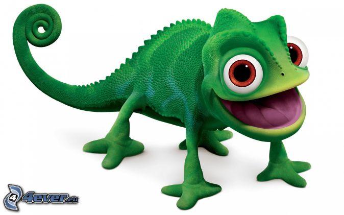 Disney Tsum Tsum Libro Para Colorear En Línea De Arte En: Camaleón