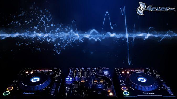 Fondo 3D musica DJ - Imagui