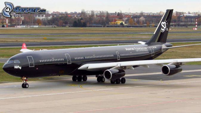 Airbus A340, aeropuerto