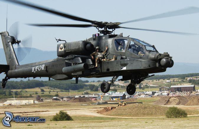 AH-64 Apache, soldados