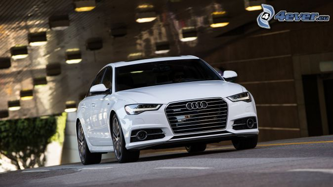Audi S6, lámparas